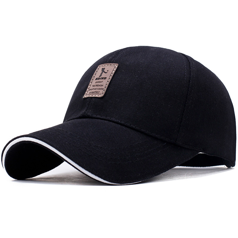 The same paragraph hat male summer Korean version of the wild sun sun hat female visor casual baseball cap summer can be folded anti uv sun hat sun protection for children to cover the sun with a large cap on the beach bike travel