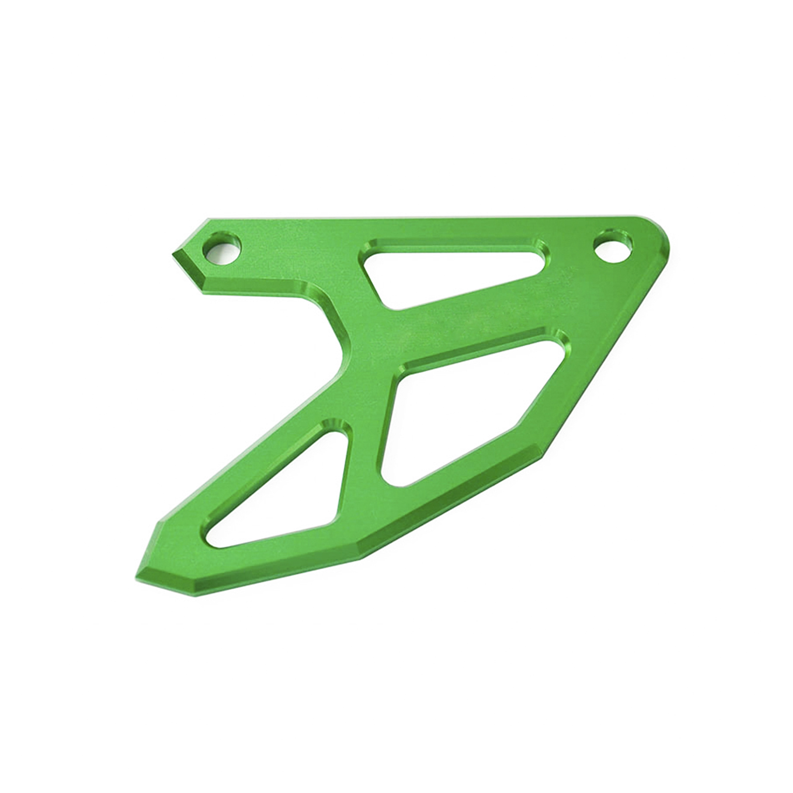 CNC Billet Rear Brake Disc Guard Potector For Kawasaki KX125 KX250 KX250F KX450F KLX450R Green