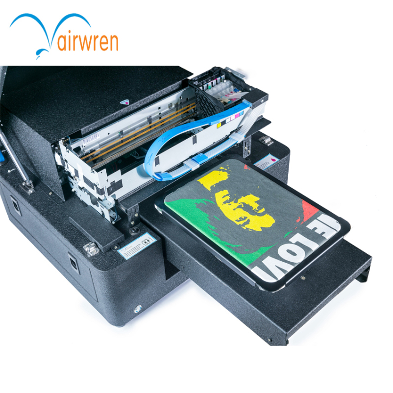 This is a graphic of Sizzling Shirt Label Printing Machine