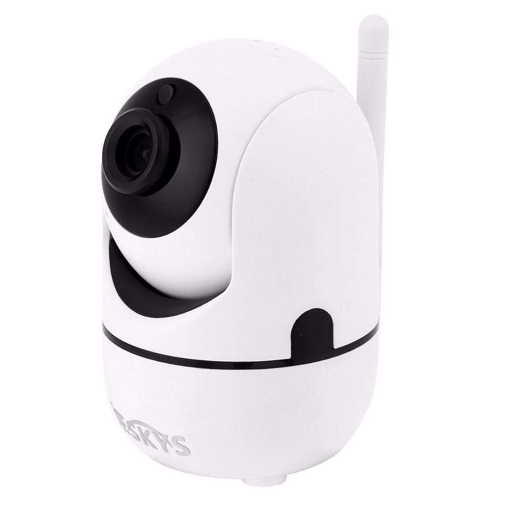 все цены на 720p 1.0MP Wireless IP Camera Baby Monitor Smart Home Security Video Surveillance Two way Audio Support TF Card - EU Plug