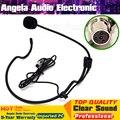 Мини XLR 4 Контактный разъем TA4F 4PIN Разъем С Креплением-Крючком Головной Микрофон Гарнитуры Конденсаторный Микрофон Майк Микрофон Для SHURE Беспроводных Поясной