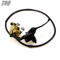 TDR Motorcycle Parts Hydraulic Disc Brake Calipers Pad System 125cc Quad Dirt Bike Dune Buggy For