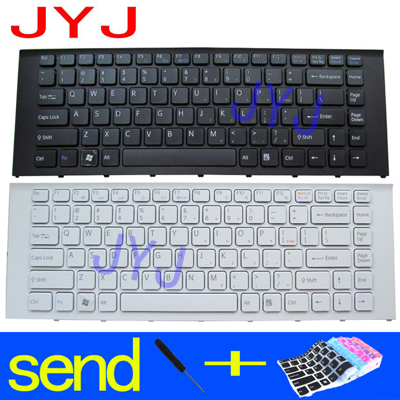 New US Black /& frame Keyboard for Sony VPCF11 VPC-F11M1EH PCG-81113L NO Backlit
