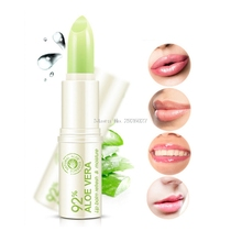 4g 1Pc Aloe Essence Repair Hydrating Lip Balm Anti Cracking Lipstick Protable -B118