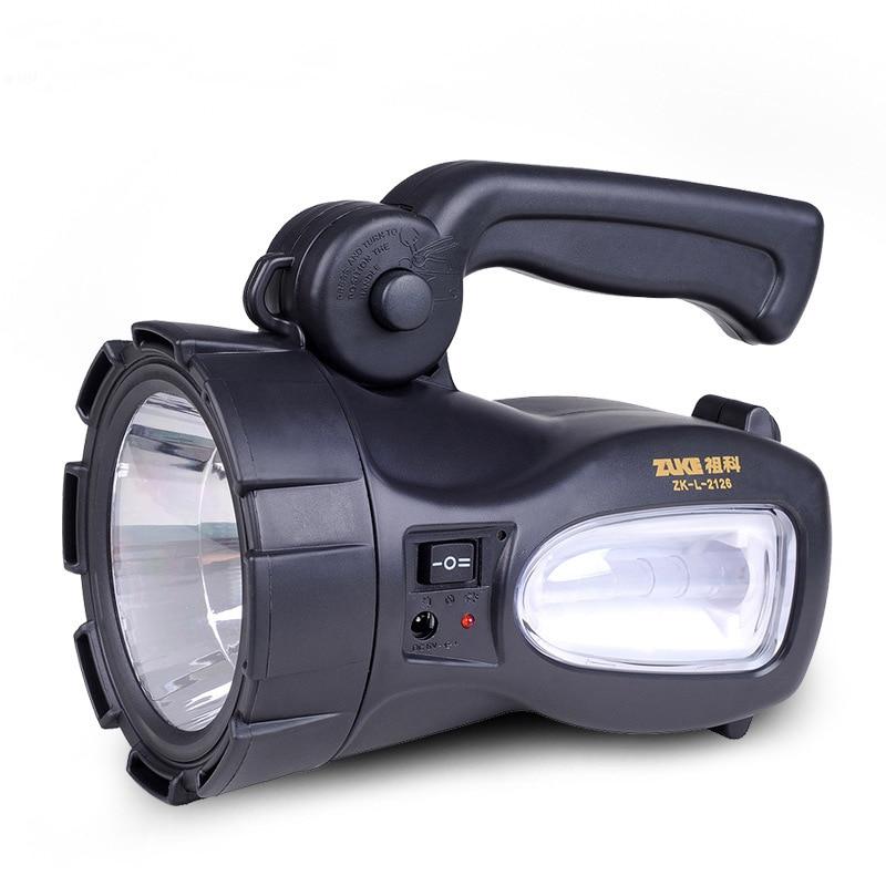 Led Rechargeable lumina reflectoarelor Long Range Outdoor Waterproof Lantern Lantern Lantern Spoturi portabile cu lumină laterală