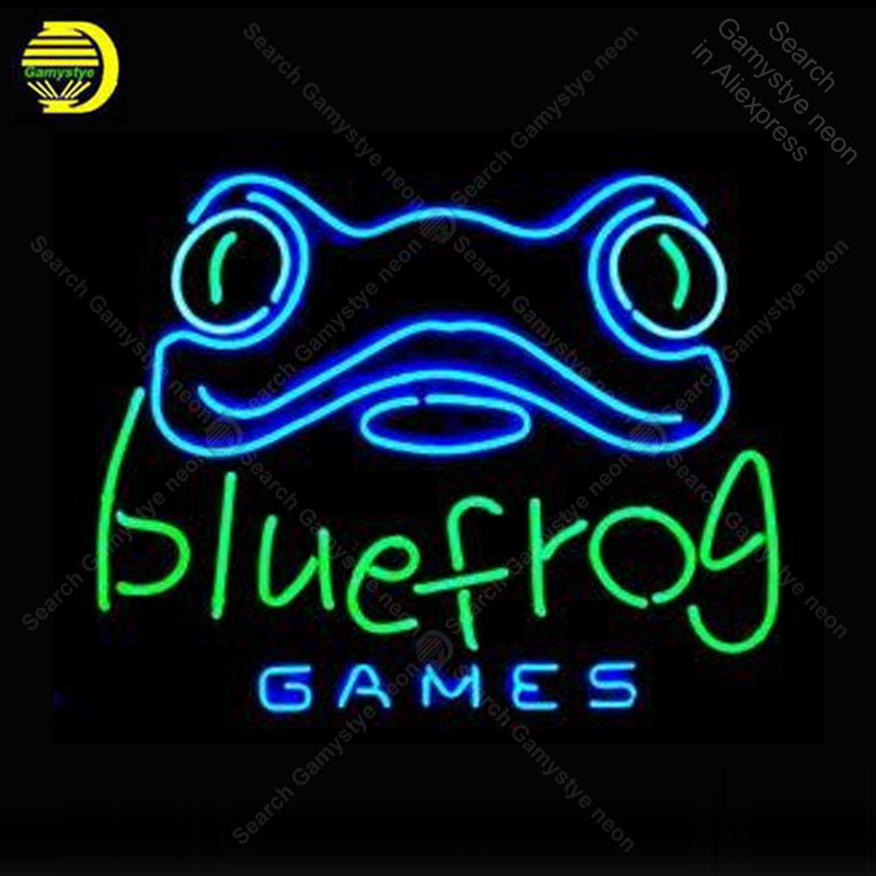 Neon Sign for Frog Games Advertise Neon Tube sign glass handcraft Decor wall game Room Naon Sign light lamp Letrero Trade markNeon Sign for Frog Games Advertise Neon Tube sign glass handcraft Decor wall game Room Naon Sign light lamp Letrero Trade mark