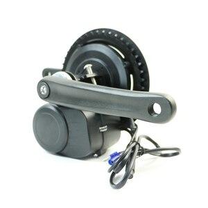 Image 2 - Tongsheng 36V350W 48V500W TSDZ2 DIY Conversion ebike Kit Mid Drive Motor kit with 850C for bike conversion