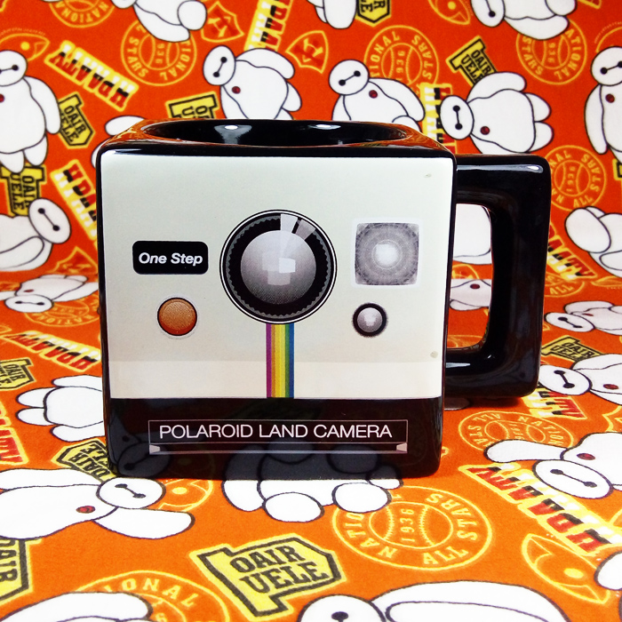 Original Imperfect Limited Ceramic Coffee Mug Polaroid Retro Camera Model Square Milk Cup Collection Mug Multicolor for Gifts