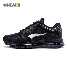 купить ONEMIX Men Running Shoes Air Shoes Outdoor Jogging Shoes Sports Damping Cushion Sneakers for Working Trekking Big size 39-46 дешево