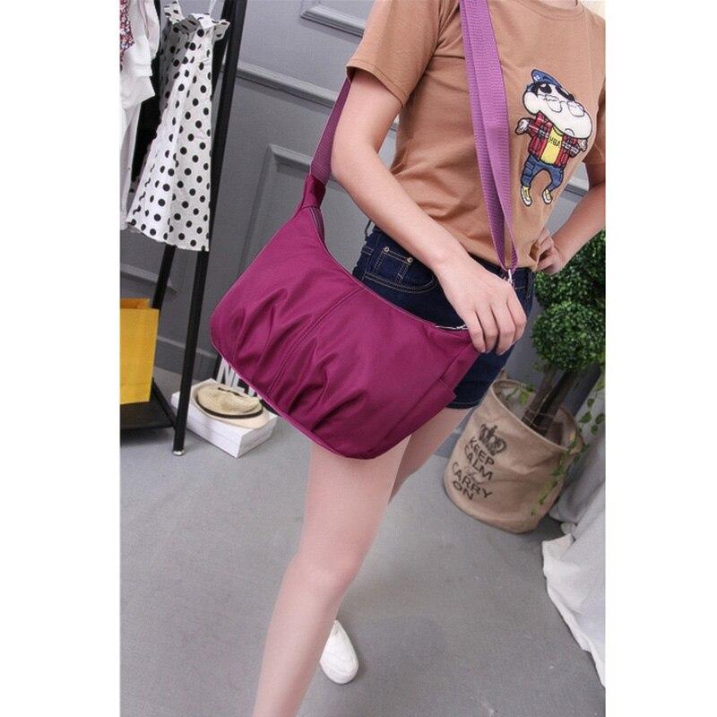 sintir hobos sacolas de nylon Shopper Bag Nylon : Women Handbags 2017 Luxury Designer