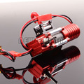 RC 1:10  D90 Truck ELECTRIC WINCH W/ SWITCH SCX10 Metal Housing Rock Crawler