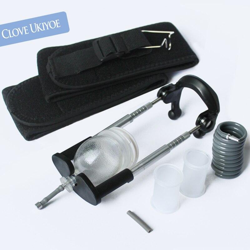 Penis Extender Male Belt Vacuum Enlargement Rod Hanging Enhancement Stretcher Health & Beauty