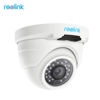 Reolink IP Security Camera PoE Outdoor 4MP Video Dome IR Cam W Audio RLC420