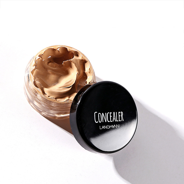 Concealer Cream Face Skin Contour Make Up Base Long Lasting Moisturizer 12 Colors Eyes Brighten Cosmetic Makeup Primer 4