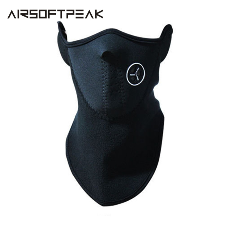 Outdoor Cycling Mask Warm Half Fleece Masks Skiing Scarf Balaclavas Windproof Winter Protect Bicycle Fishing Hunting Accessories
