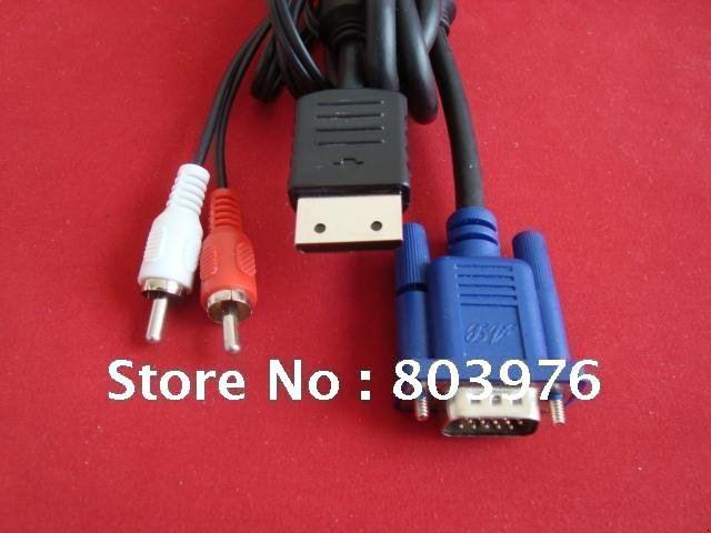 Wholesale DC VGA BOX Cable,  dreamcast vga box cable
