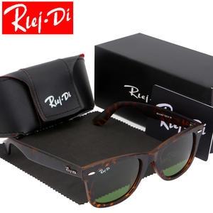 5e44ed09250 RLEI DI Sunglasses Men Retro Sunglasses Women Mirror Male