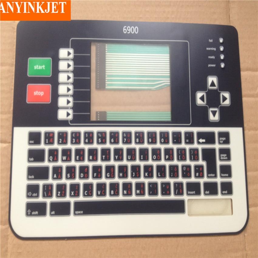 Teclado de pantalla para impresora Linx 6900