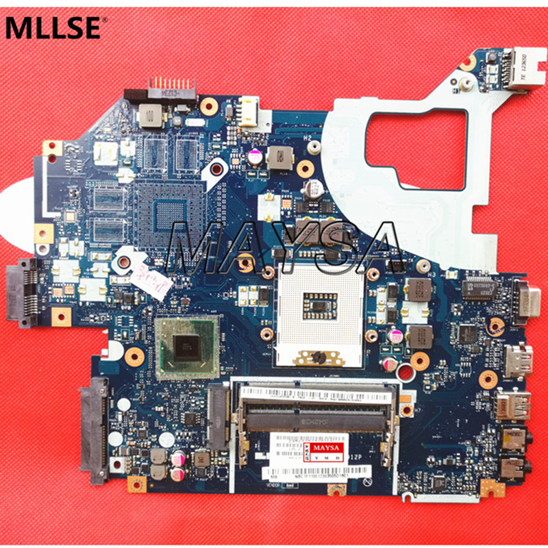 NBY1111001 FOR acer aspire V3-571G E1-571G laptop motherboard HM77 Q5WVH LA-7912P REV:1.0 mainboard NOTEBOOK PC p5we6 la 7092p rev 1 0 mainboard for acer aspire 5253 5250 laptop motherboard ddr3 mbrjy02001 mb rjy02 001