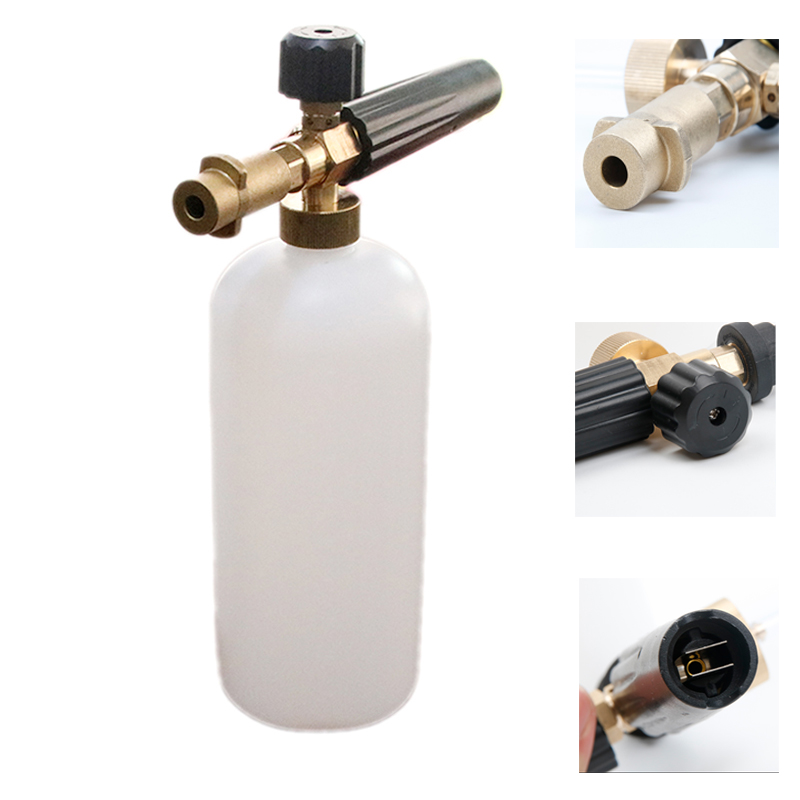 Universal Car Washer High Pressure Snow Foam Lance for Karcher K Soap Foamer Adjustable Foam Nozzle Generator Auto Accessories