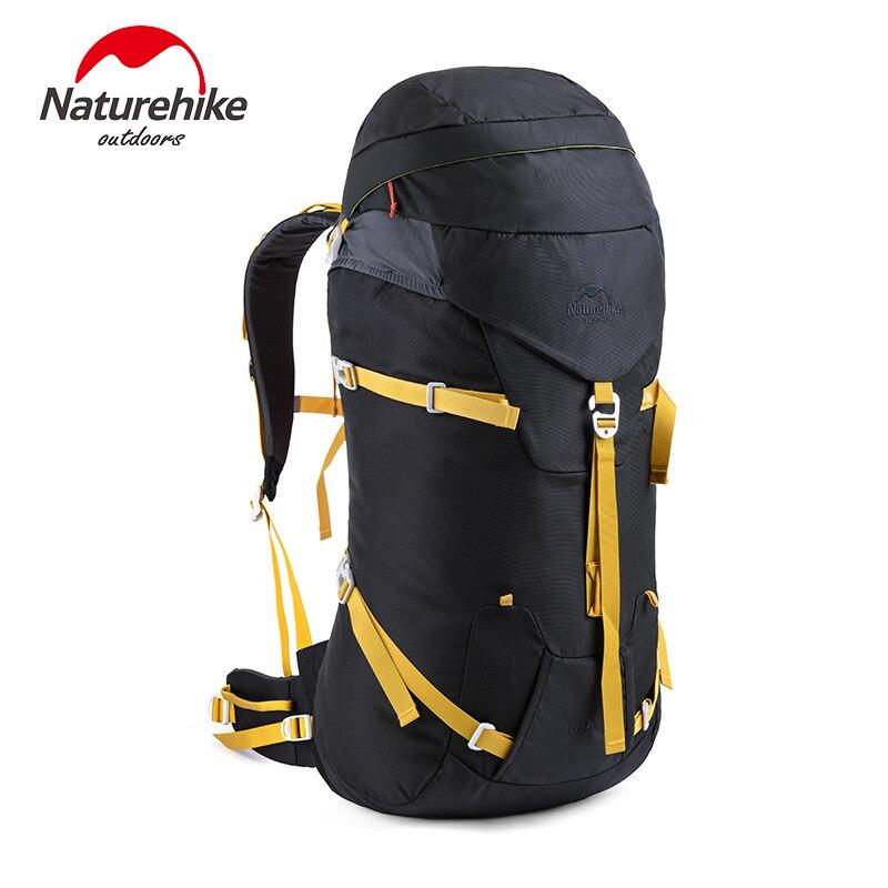 ФОТО Naturehike Brand High Quality Outdoor Backpack   Capacity 45L+5L Lightweight 1.3kg Hiking Climbing Travl Backpacks