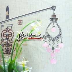 Корейский головной убор ханбок женские традиционные представления костюмы шпилька Корея Свадьба ханбок шпилька
