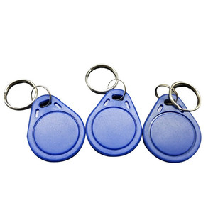 Image 2 - 10PCS 13.56MHz S50 Key Fobs NFC Tag RFID Card For Access Control System Keyfobs To