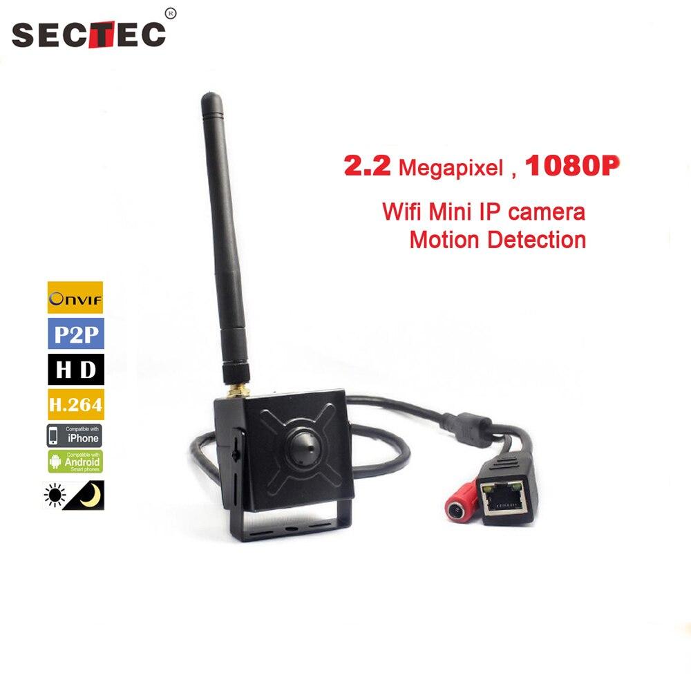 SECTEC New Mini Network Camera 1080P with Motion Detection Audio Function Wireless WIFI Mini Camera tigabu dagne akal constructing predictive model for network intrusion detection