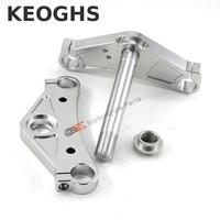 Keoghs Motorcycle Triple Trees Cnc Aluminum 26mm Hole Diameter For Japan Monkey Motorbike
