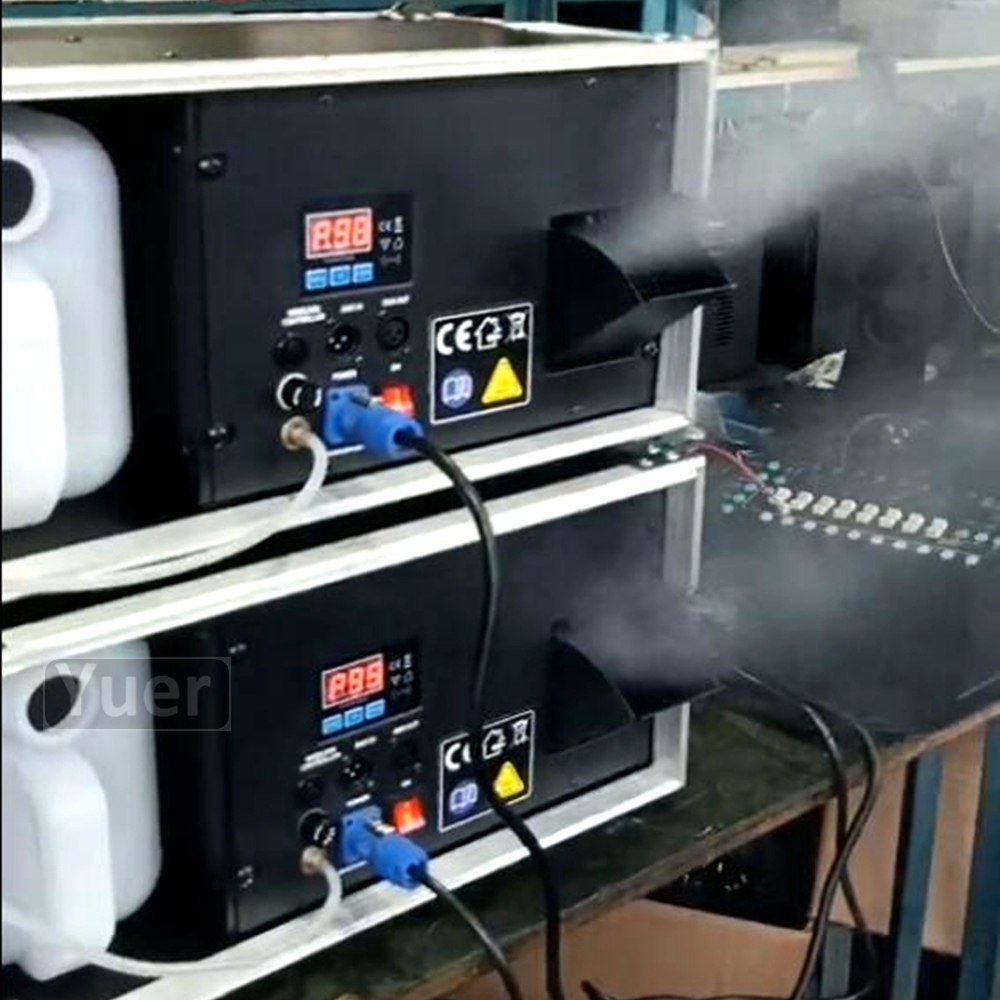 NOVA 1500W Haze Máquina de FumaçaMáquinaProfissional Palco