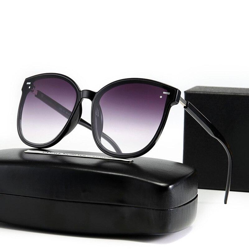 ZXWLYXGX 2021 Classic Rivet Sunglasses Men Women Brand Designer Driving Round Frame Sun Glasses Male Goggle UV400 Gafas De Sol