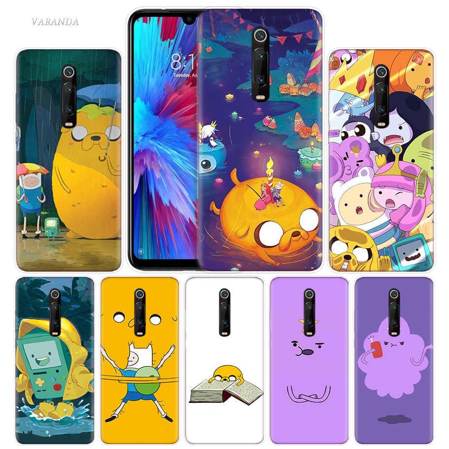 Petualangan Waktu Case untuk Xiao Mi Merah Mi Note 7 7S K20 Y3 Pergi S2 6 6A 7A 5 pro Mi Bermain 9T A1 A2 8 Lite Poco F1 Anime TPU Ponsel Tas