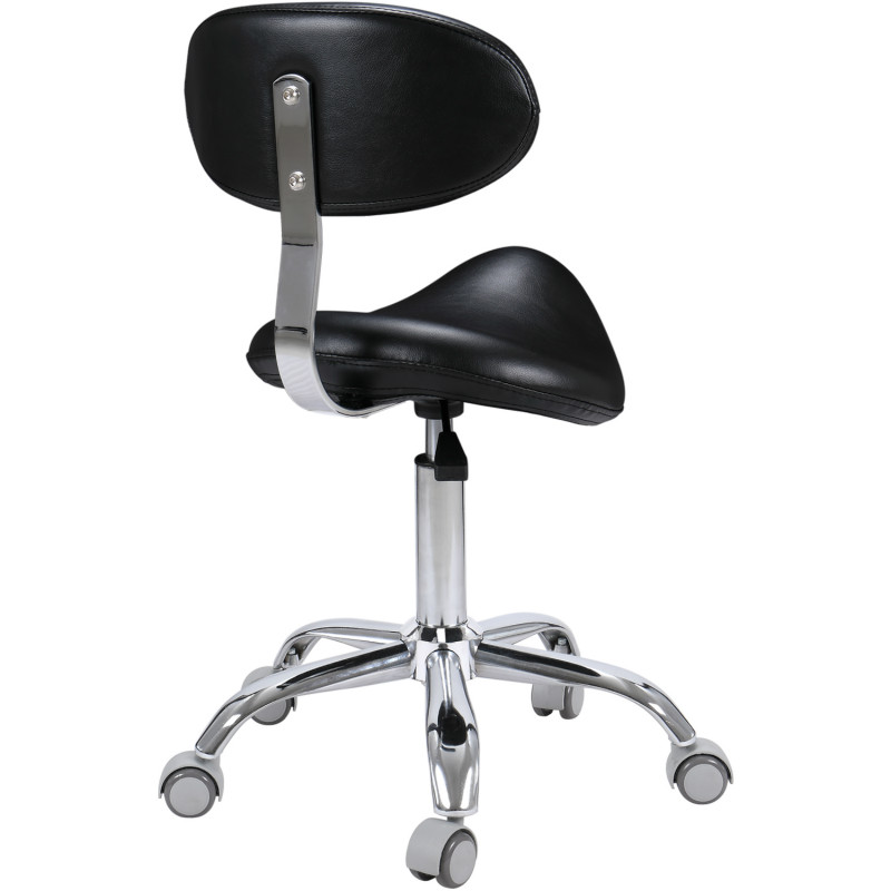 Makeup Chair Rotating Lift Pulley Beauty Chairs Stool Hair Beauty Salon Round Explosion-proof Saddle Chair Barbearia Cadeira De