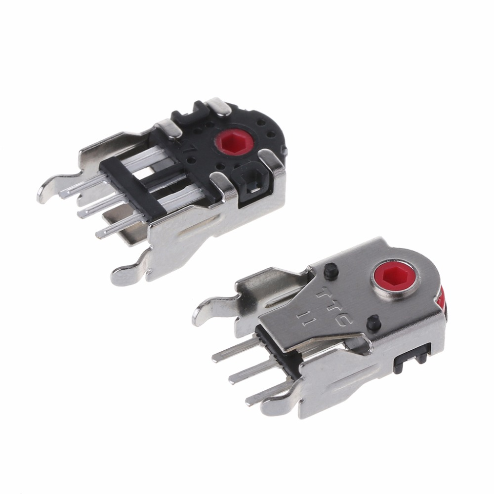 2Pcs Original TTC Mouse Encoder Mouse Decoder Highly Accurate 11mm Red Core