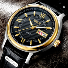 Switzerland Nesun Japan Import NH36A Automatic Movement Watch Men Luxury Brand Men's Watches Sapphire Genuine Leather N9205-2 все цены