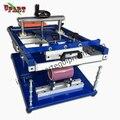 Máquina de serigrafía manual de cilindro para botellas/tazas/tazas/pulseras de silicona/plumas