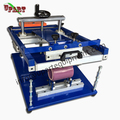 manual cylinder screen printing machine for bottles/mugs/cups/silicon wristbands/pens