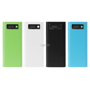 Image 2 - Dual USB 8x 18650 Battery DIY Holder LCD Display Power Bank Case Box For iphone