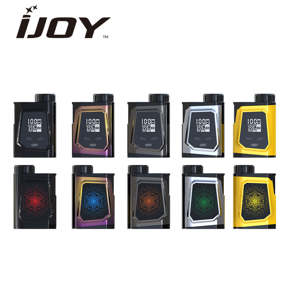 100W Original IJOY CAPO 100 21700 TC MOD with 3750mAh 21700 Battery IJOY CAPO 100 TC Mod fit Captain Mini Tank Vape Box Mod шапка capo capo ca993cunto41