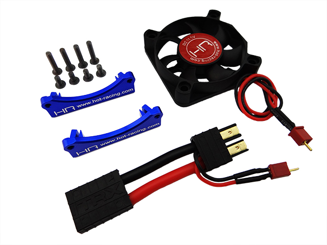 Monster Blower Motor heat sink Fan with Mount for Traxxas X Maxx купить