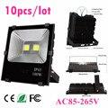 10 шт. оптовая продажа 50 Вт 100 Вт 150 Вт 200 Вт наружный светодиодный прожектор теплый/холодный белый Садовый светильник AC85V-265V мощный светодиодн...