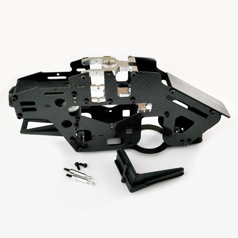 Hausler 450 Carbon Fiber Main Frame Belt Drive for Trex 450 PRO Helicopter цена и фото
