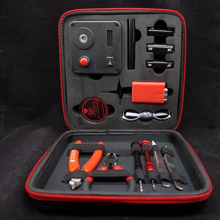 TIMOVAPE DIY Bobine Vaping Outil Kit pour Reconstruction Bobines Avec 521 Tab Mini Ohmmètre Outil BRICOLAGE