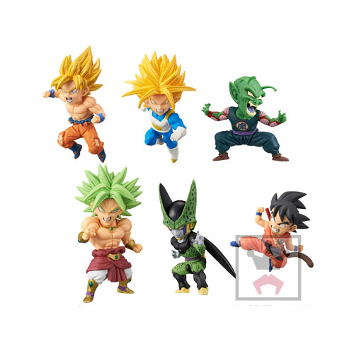DRAGON BALL SUPER WCF World Collectable Figure BATTLE OF SAIYAN Vol.2 6 Complete Set 100% Original original banpresto world collectable figure wcf the historical characters vol 3 full set of 6 pieces from dragon ball z