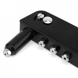 Image 2 - Rebitador Da mão Manual de peso Leve Kit de Arma de Rebite Cego Rebite Mão Ferramenta Sarjeta Sarjeta Reparação Heavy Duty Ferramenta Profissional