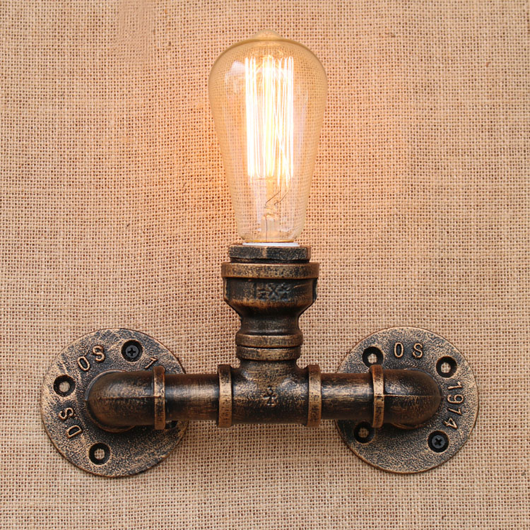 IWHD RH Nordic Loft LED Wall Lamp Industrail Vintage Wall Light Retro Bedside Sconce Fixtures For Home Lighting Bar LuminaireIWHD RH Nordic Loft LED Wall Lamp Industrail Vintage Wall Light Retro Bedside Sconce Fixtures For Home Lighting Bar Luminaire