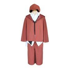 Brdwn Bungo Stray Dogs Unisex Edogawa Ranpo Cosplay suit Costume(Trench+Shirt+Vest+Tie+Cap+Pants+Socks)