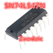 где купить 10PCS SN74LS47N DIP16 SN74LS47 DIP 74LS47N 74LS47 HD74LS47P DIP-16 new and original IC дешево