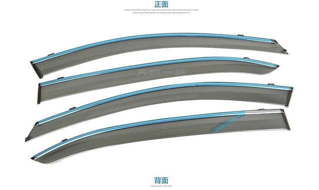 Аксессуары Для Mazda 3 AXELA Седан 2014 2015 2016 Окно Навесы козырьки Ветер Дефлектор Козырек Дождь Гвардии Vent 4 шт./набор
