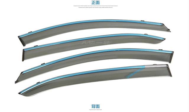 Accessories For Mazda 3 AXELA Sedan 2014 2015 2016 Window Visors Awnings Wind Rain Deflector Visor Guard Vent 4pcs / set